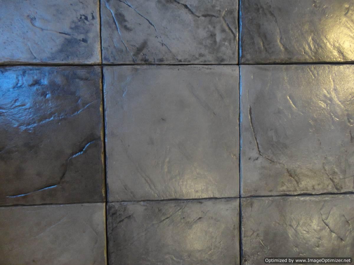Cobblestone Gray Dektektile Precast Concrete Decking Material