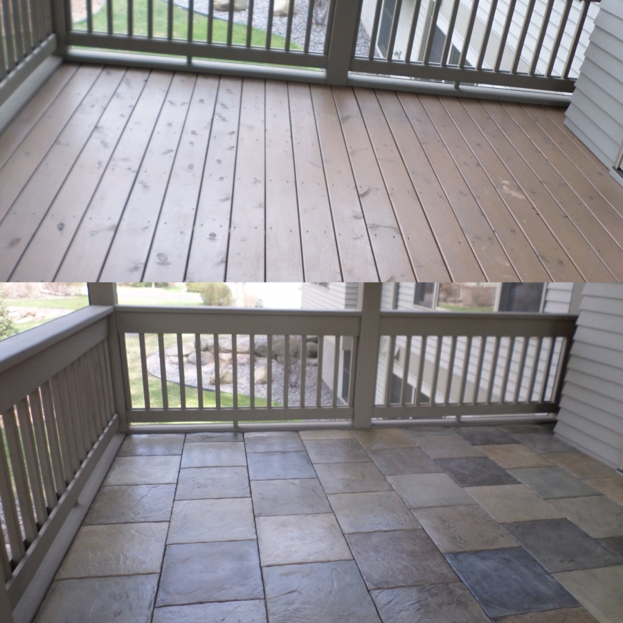 Porch Vs Deck Which Is The More Befitting For Your Home: DekTekTile - Precast Concrete Decking
