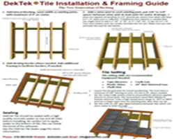 DekTek Tile Installation Brochure