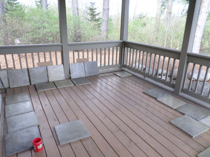 Over Existing Decking Installation