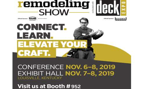 Remolding Show Deck Expo - Louisville, KY