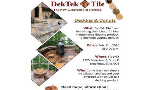 DECKING & DONUTS