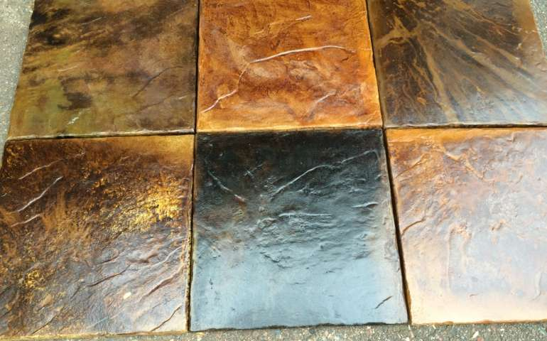 Tuscan Medley Samples - Beautiful Deck Tiles